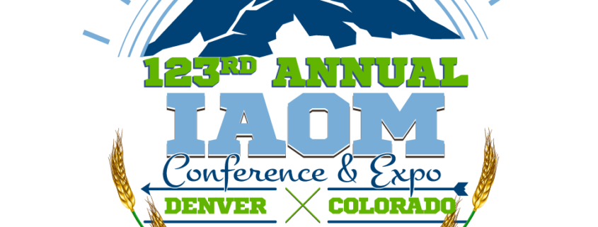 IAOM 123rd 2019 CONFERENCE Logo